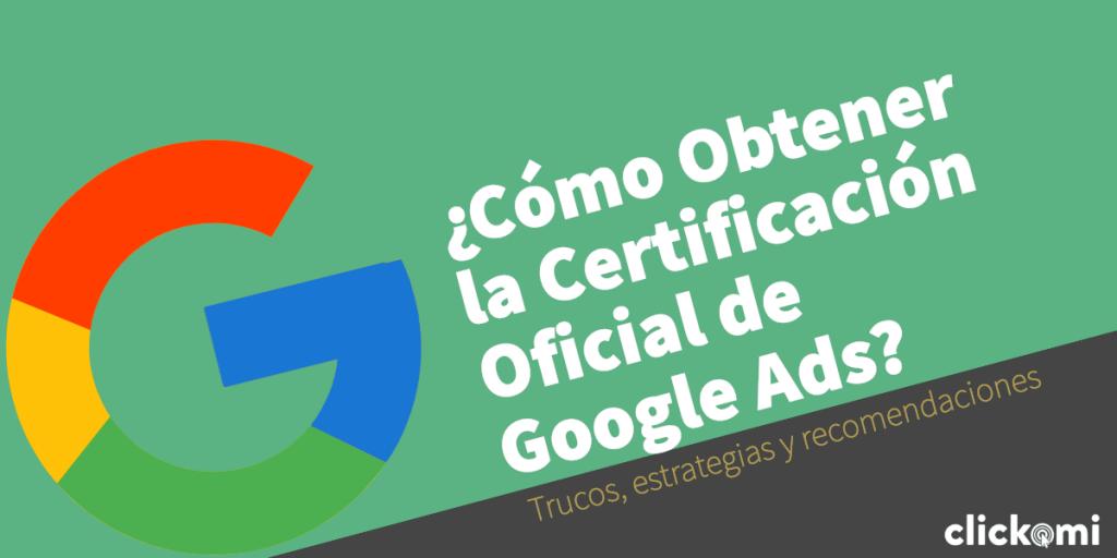 certificacion google ads